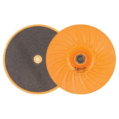Quick-Step 7 in. x 5/8 in. to 11 in. Velcro Backing Pad with Centering Pin