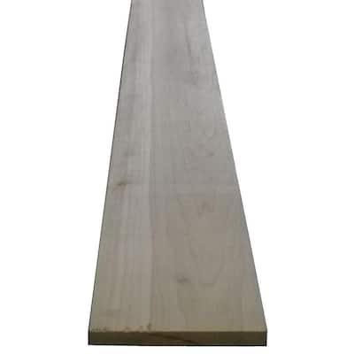 Poplar Board (Common: 1 in. x 4 in. x R/L; Actual: 0.75 in. x 3.5 in. x R/L)