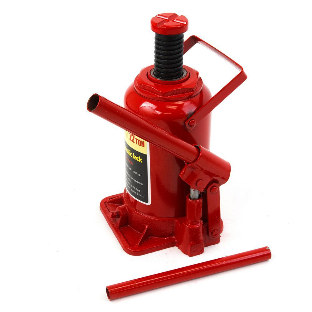 22-Ton Hydraulic Bottle Jack