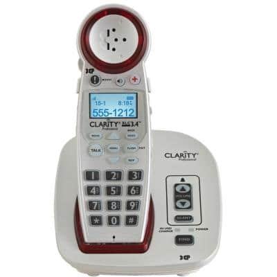 DECT 6.0 Extra-Loud Big-Button Speakerphone with Talking Caller ID