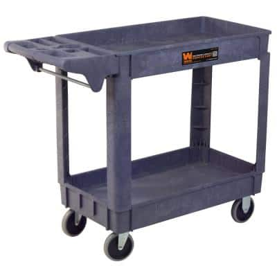 500-Pound Capacity 40 by 17 in. Service Utility Cart