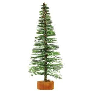 5 in. Green Artificial Village Christmas Tree