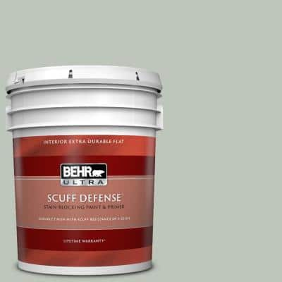5 gal. #N410-3 Riverdale Extra Durable Flat Interior Paint & Primer