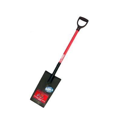 12-Gauge Edging and Planting Spade with Fiberglass D-Grip Handle