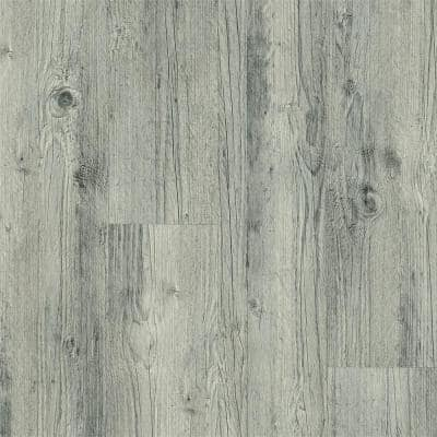 American Home Grey 6 in. x 36 in. Glue Down Vinyl Plank (35.95 sq. ft. / carton)
