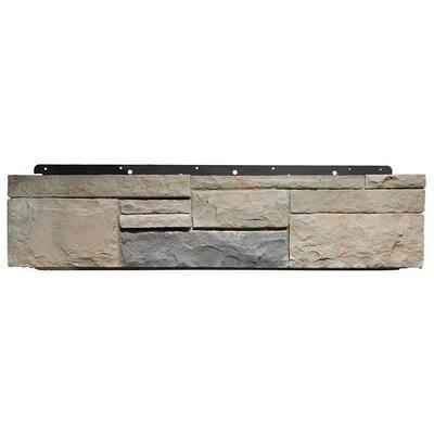 8 in. x 36 in. Versetta Stone Tight-Cut Corner Mission Siding (6-Bundles/Box)