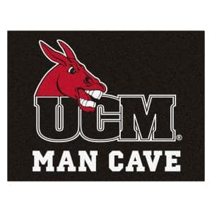 NCAA University of Central Missouri 3 ft. x 4 ft. Man Cave All Star Rug