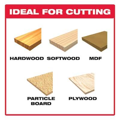 4 in. x 10 TPI Reverse Cut Bi-Metal Jigsaw Blade (5-Pack)