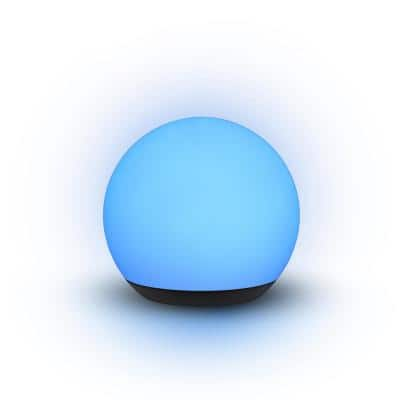 6 in. Rechargeable Multi-Color LED Mini Orb Lamp
