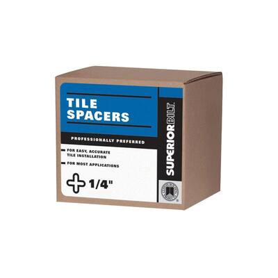 SuperiorBilt 1/4 in. Regular Long Tile Spacer Box (450 pack)