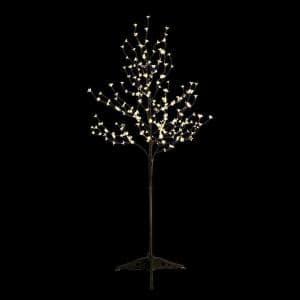 6 ft. Pre-Lit Cherry Blossom Tree with 208 Warm White lights