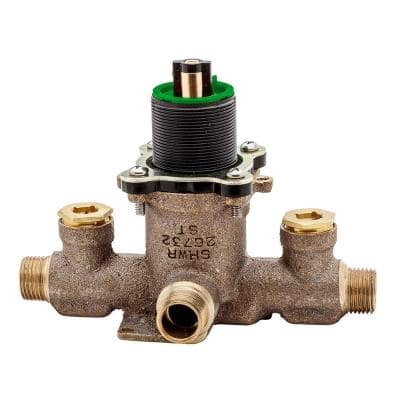 Single Control Pressure Balance Tub and Shower Valve with Stops