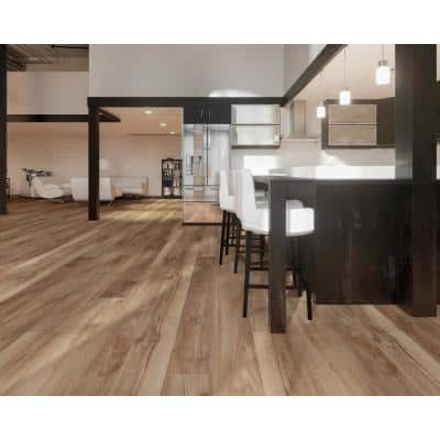 Victorum Lithe Sequoia 7 in. W x 60 in. L SPC Vinyl Plank Flooring (24.08 sq. ft.)