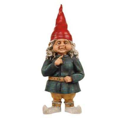 32 in. Zelda the Gnome Woman Garden Statue