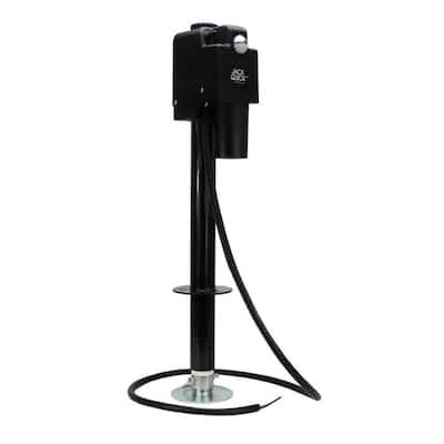 Power A-Frame Electric Tongue Jack - 3,650 lbs. Lift Capacity, Black