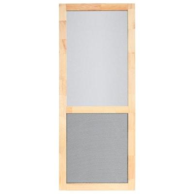 PetGuard Series 32 in. x 80 in. Wood Century Screen Door
