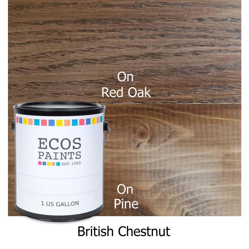 1 gal. British Chestnut WoodShield Interior Stain