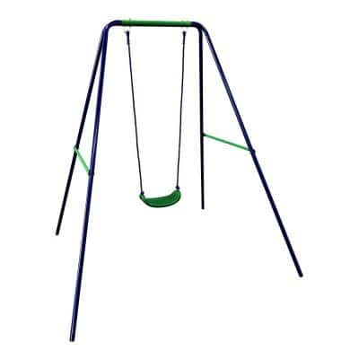 Blue and Green Bar Child Swing