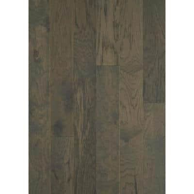 Hampshire 6-3/8 in. W Granite Engineered Hickory Water Resistant Hardwood Flooring (30.48 sq. ft./case)
