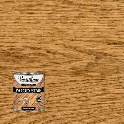 1 qt. Golden Oak Premium Fast Dry Interior Wood Stain (2-Pack)