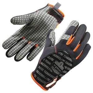 ProFlex 821 Large Black Smooth Surface Handling Gloves