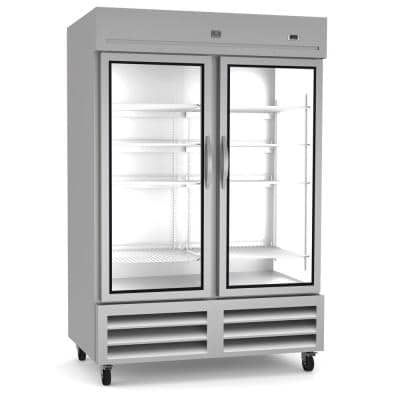 49 Cu. Ft. Commercial Upright Reach-In Freezer Stainless steel