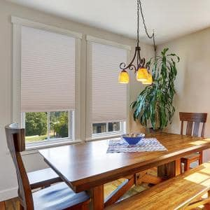 Easy Lift Cut-to-Size Natural Cordless Light Filtering Cellular Fabric Shade 48 in. W x 64 in. L