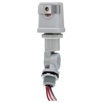 K4200 Series 1800-Watt Stem and Swivel Mount Thermal Photocontrol, Gray