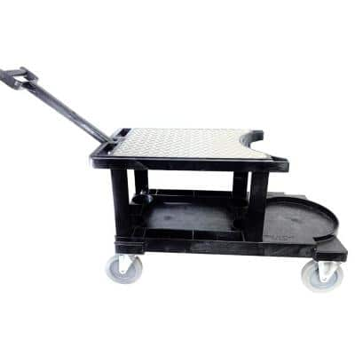 14-3/4 in. W x 31 in. L x 18-1/4 in. H Tradesman Utility Cart w/Handle w/o Tool Apron Fits a 5 Gal. Bucket Not Included