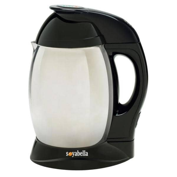Tribest Soybella Black Stainless Steel Soy and Nutmilk Maker
