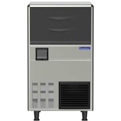 155 lb. Freestanding Nugget Ice Maker in Stainless Steel