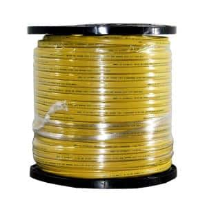 1000 ft. 12/3 Yellow Solid CerroMax SLiPWire CU NM-B W/G Wire