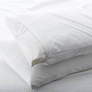 300-Thread Count Cotton Sateen King Gusset Pillow Protector