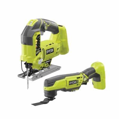 ONE+ 18V Cordless Orbital Jig Saw and Cordless Multi-Tool (Tools Only)