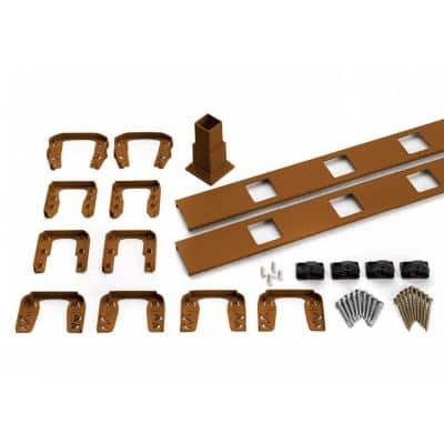 Trex 91.5 in. Transcend Tree House Accessory Infill Kit for Square Composite Balusters-Horizontal