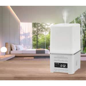 SensoryTime aromatherapy alarm clock with Bluetooth, white