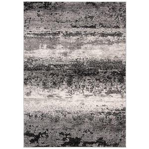 Spirit Charcoal/Light Gray 8 ft. x 10 ft. Area Rug