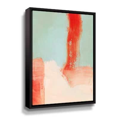 'Color study' by Iris Lehnhardt Framed Canvas Wall Art
