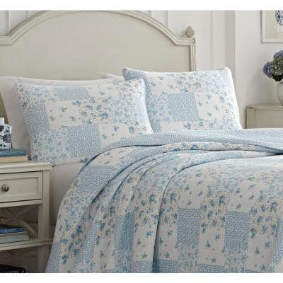 Kenna Floral Cotton Quilt Set