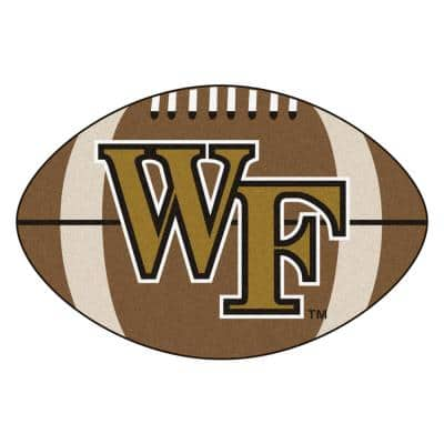 NCAA Wake Forest University Brown 2 ft. x 3 ft. Specialty Area Rug