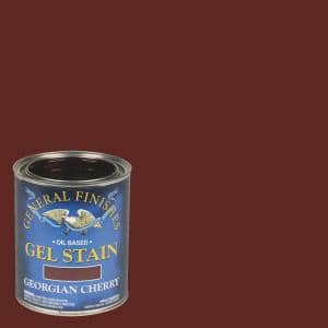 1 qt. Georgian Cherry Oil-Based Interior Wood Gel Stain
