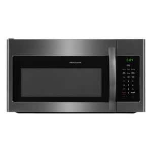 30 in. 1.6 cu. ft. Over the Range Microwave in Black Stainless Steel