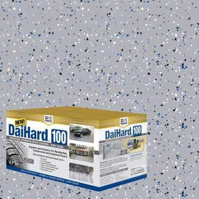 Industrial Strength 3.7 Qt. Gray Gloss 100% Solids Epoxy Concrete Floor Coating Kit