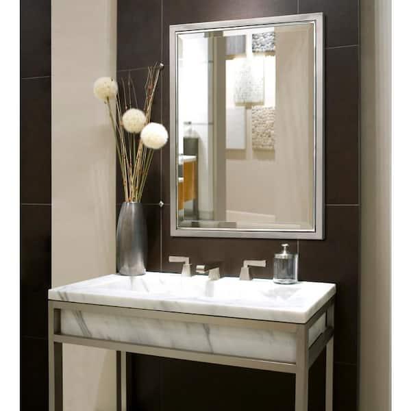 Deco Mirror 30 In W X 40 H Framed, 30 X 40 Bathroom Vanity Mirror