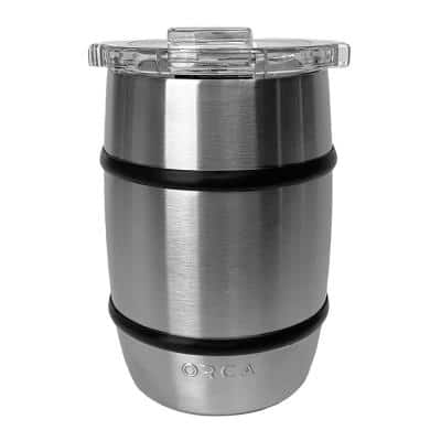 12 oz. Whiskey Barrel in Stainless Steel