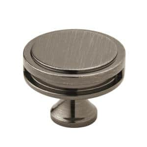 Oberon 1-3/4 in. Dia (44 mm) Gunmetal Cabinet Knob