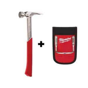 22 oz. Milled Face Framing Hammer with Hammer Loop