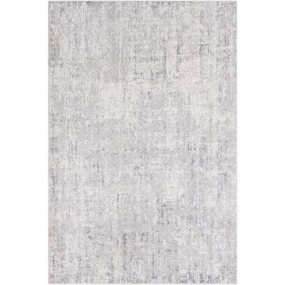 Marquis Grey 5 ft. 3 in. x 7 ft. 3 in. Solid Area Rug