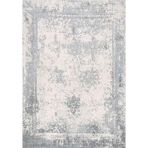 Shawanna Vintage Slate Blue 5 ft. x 8 ft. Area Rug
