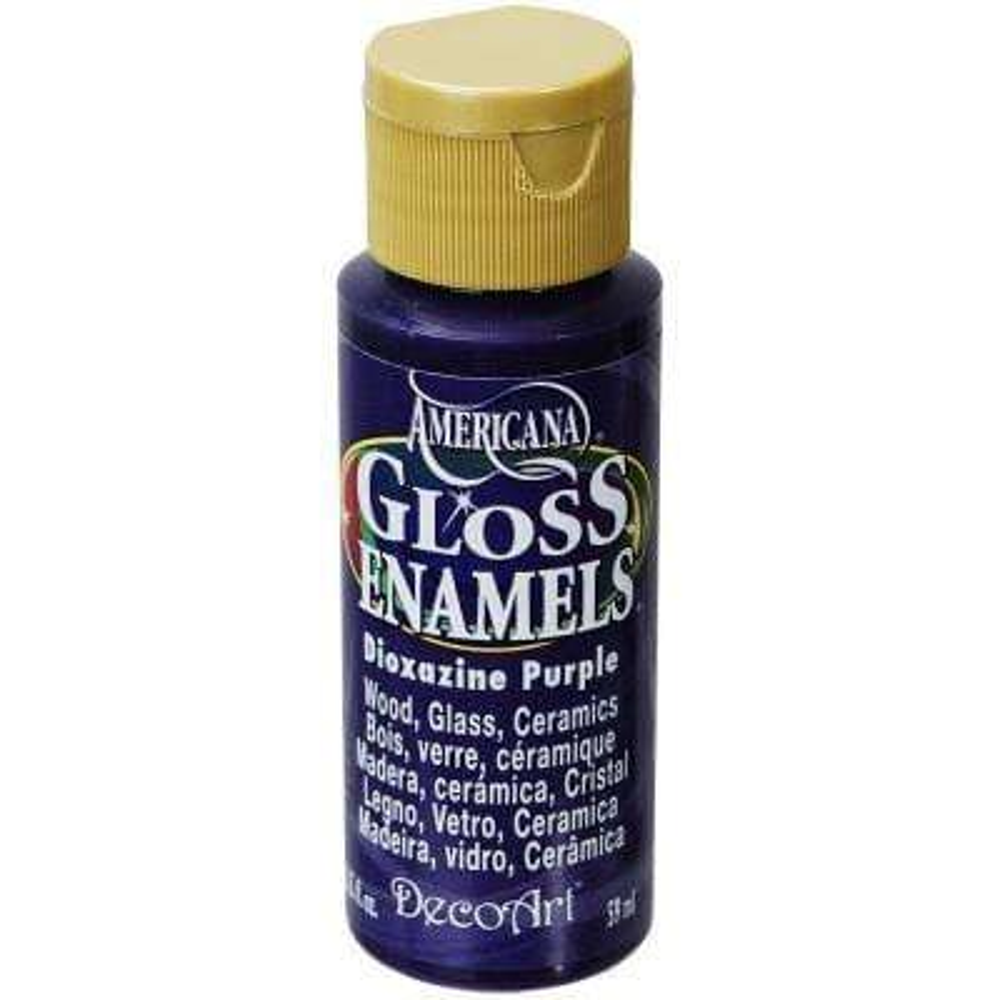 2 oz. Dioxazine Purple Gloss Enamel Paint